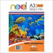 PAPEL GLOSS NEXEL 230G 20F A3 397
