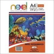 PAPEL GLOSS NEXEL 230G 50 FOLHAS A4 362