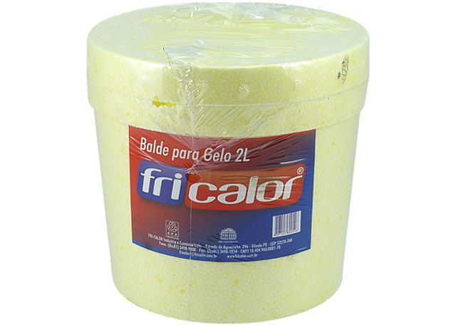 BALDE FRICALOR PARA GELO 2L R-600546