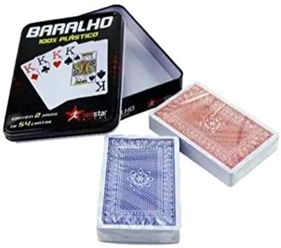 BARALHO PLAST COM 2 ELJ0303