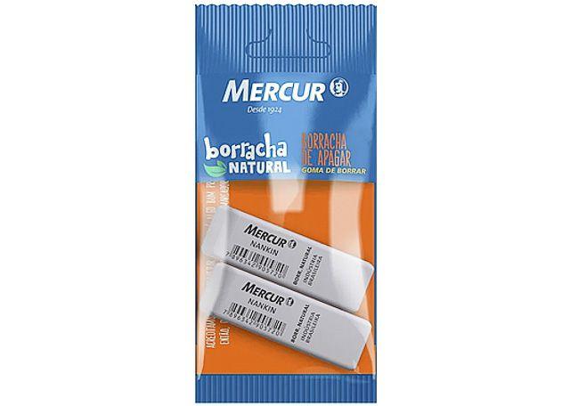 BORRACHA MERCUR NANKIN 2 PEÇAS 1049