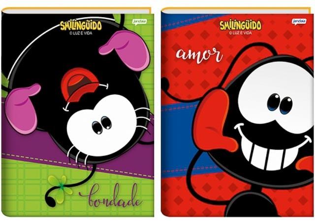 CADERNO BROC CD SMILINGUIDO 96F 63548