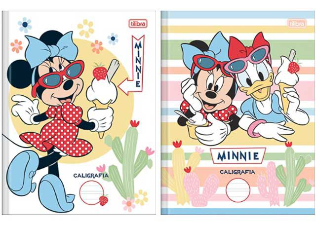 CADERNO BROCH CD CALIG 40F MINNIE 149781