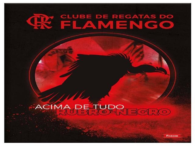 CADERNO BROCHURAO FLAMENGO 96F 8845