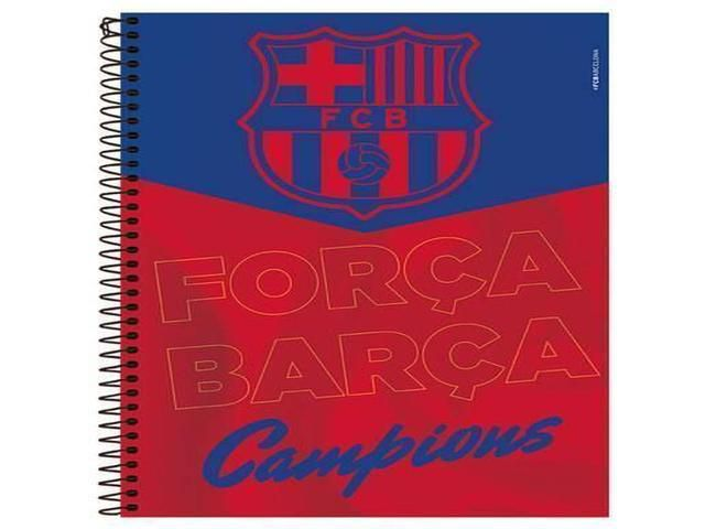 CADERNO CD BARCELONA 10X1 200F 9141