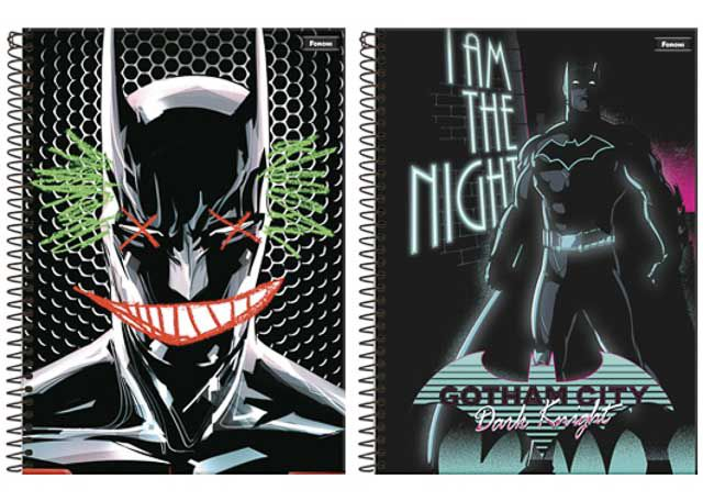 CADERNO CD BATMAN 1X1 96F 8660