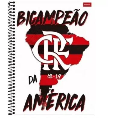 CADERNO CD FLAMENGO 12X1 240F 8842