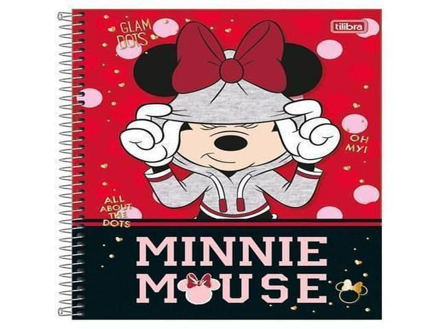 CADERNO CD MINNIE 16X1 320F 147206