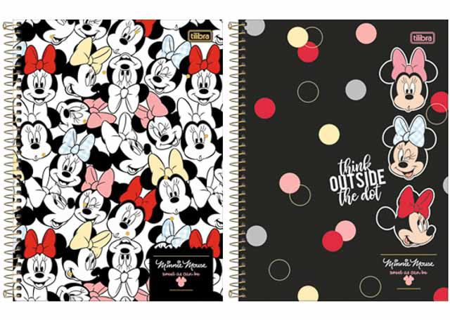 CADERNO CD MINNIE 20X1 320F 308111
