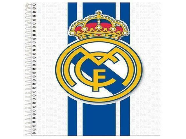 CADERNO CD REAL MADRI 15X1 300F 6103
