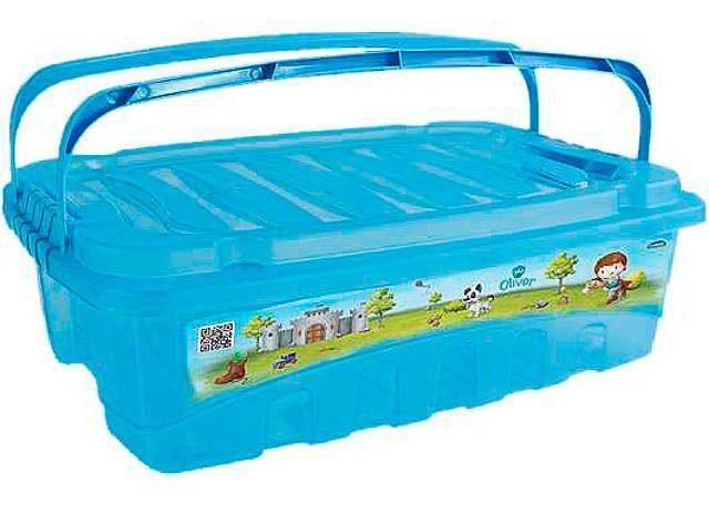CAIXA PLASUTIL GRANDE BOX COM ALÇA 9,3L 7020