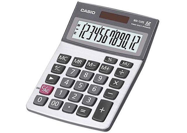 CALCULADORA CASIO MX-120B-S4-DC
