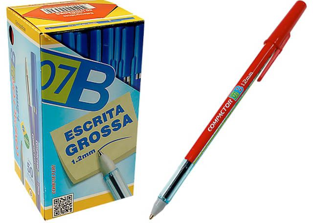 CANETA COMPACT 07B 1,2MM 50P VM 1726002