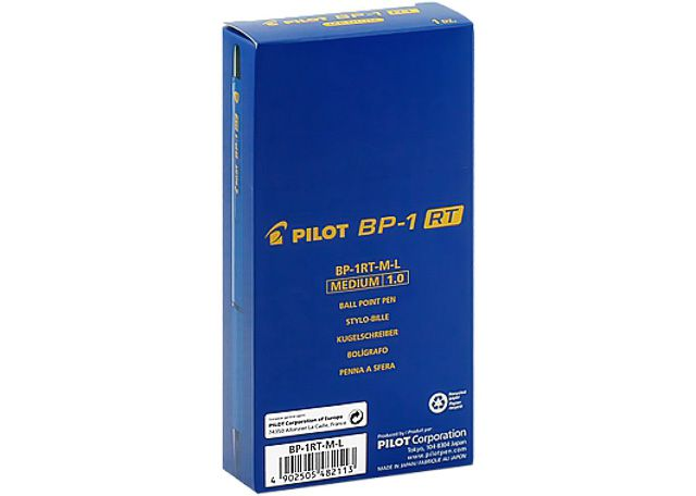 CANETA PILOT BP-1RT-M 12 PEÇAS AZUL 2410046