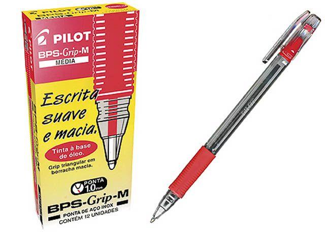 CANETA PILOT BPS GRIP M 1.0 VM 0022