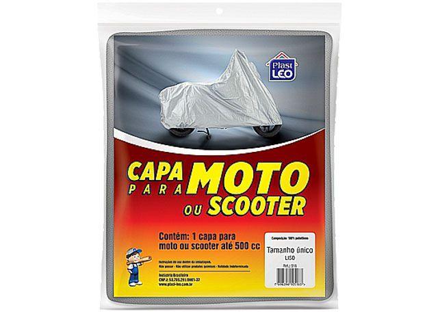 CAPA MOTO FORRADA PLAST-LEO 531