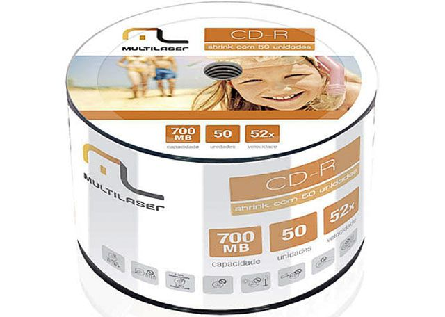 CD-R MULTILAS 700MB 80M CD100PP/CD051