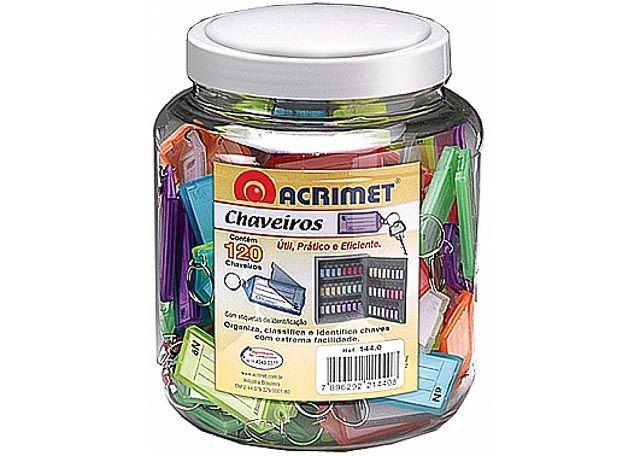 CHAVEIRO C/INDENTIF ACRIMET 120P 144-0