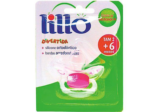 CHUPETA LILLO ORTO SILICONE T2 ROSA 614730