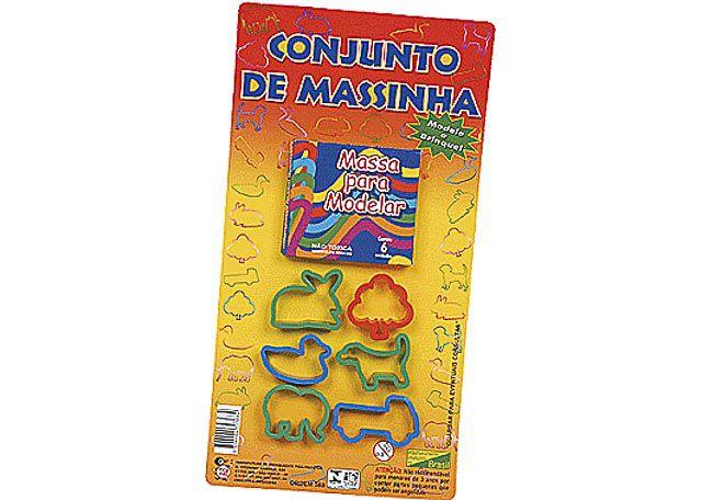 CONJUNTO DE MASSINHA 7 PEÇAS R-388