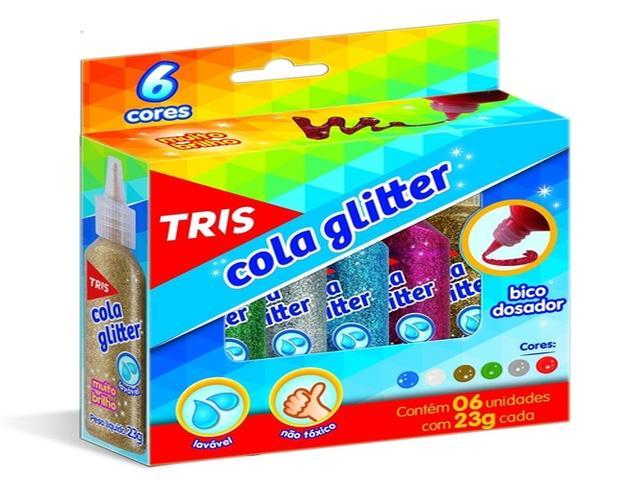 COLA GLITTER TRIS 23G 6C 681436