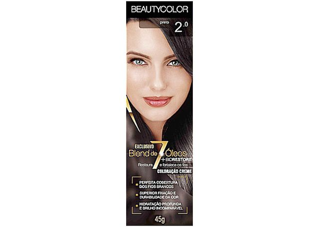 COLORAÇÃO CR BEAUTYCOLOR 2.0 PRETO