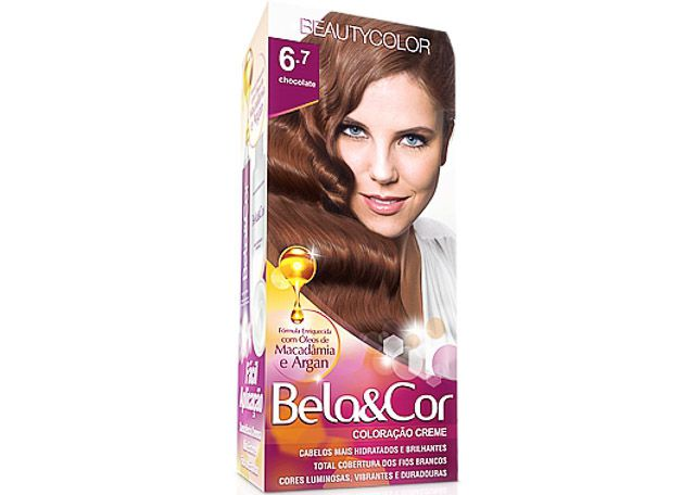 COLORACAO CR BEAUTY. 6.7 CHOC