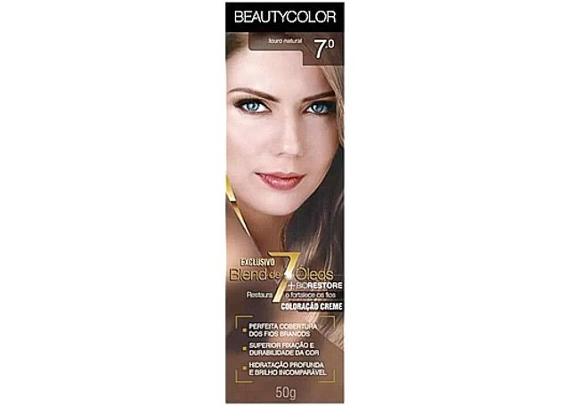 COLORACAO CR BEAUTY 7.0 LOU NAT