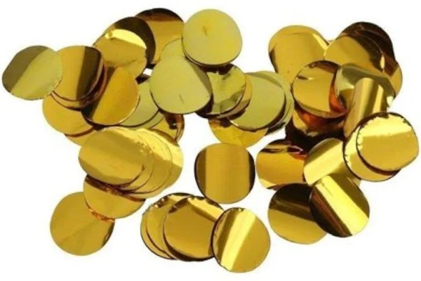 CONFETE 10G MET RED OURO 4882
