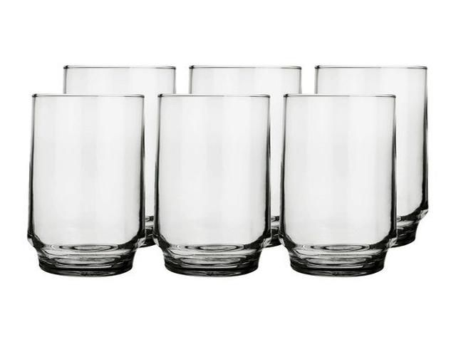 COPO NADIR LIGHTS LONG DRINK 410ML 6 PEÇAS 7604