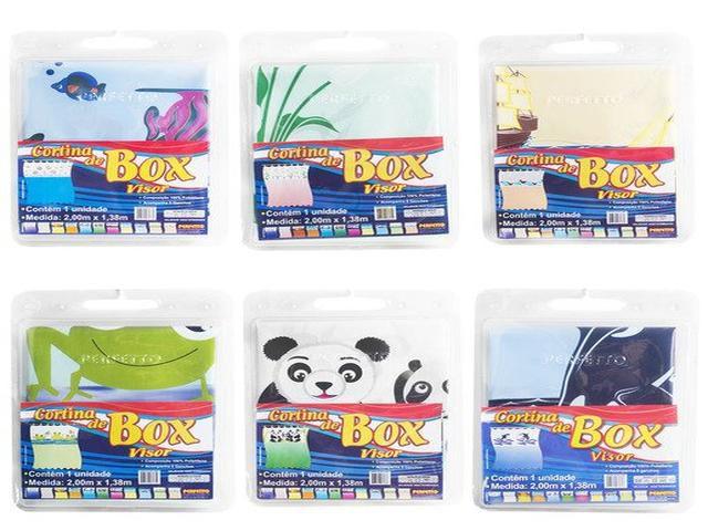 CORTINA P/BOX VISOR (10) PANDA 17008