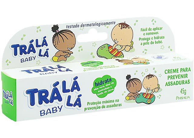 CREME PARA ASSADURA TRÁ LA LA BABY 45G HIDRATA