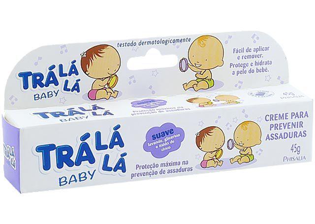 CREME PARA ASSADURAS TRÁ LA LA BABY 45G SUAVE