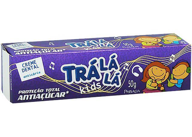 CREME DENTAL 50G TRÁ LA LA KIDS ANTIAÇUCAR