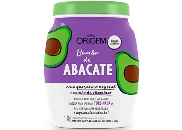 CREME HID ORIGEM 1KG INT ABACATE 986
