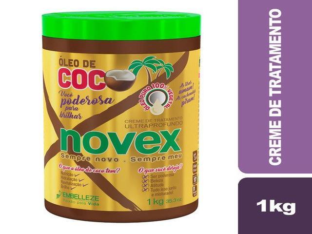 CREME NOVEX 1KG ÓLEO DE COCO 1165
