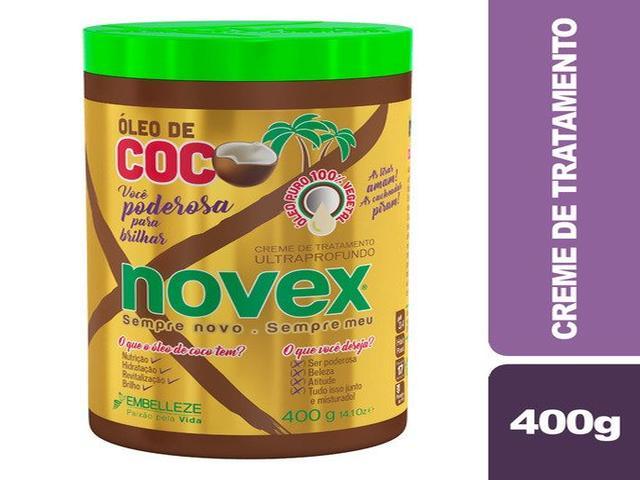 CREME DE TRATAMENTO NOVEX 400G ÓLEO DE COCO 6263