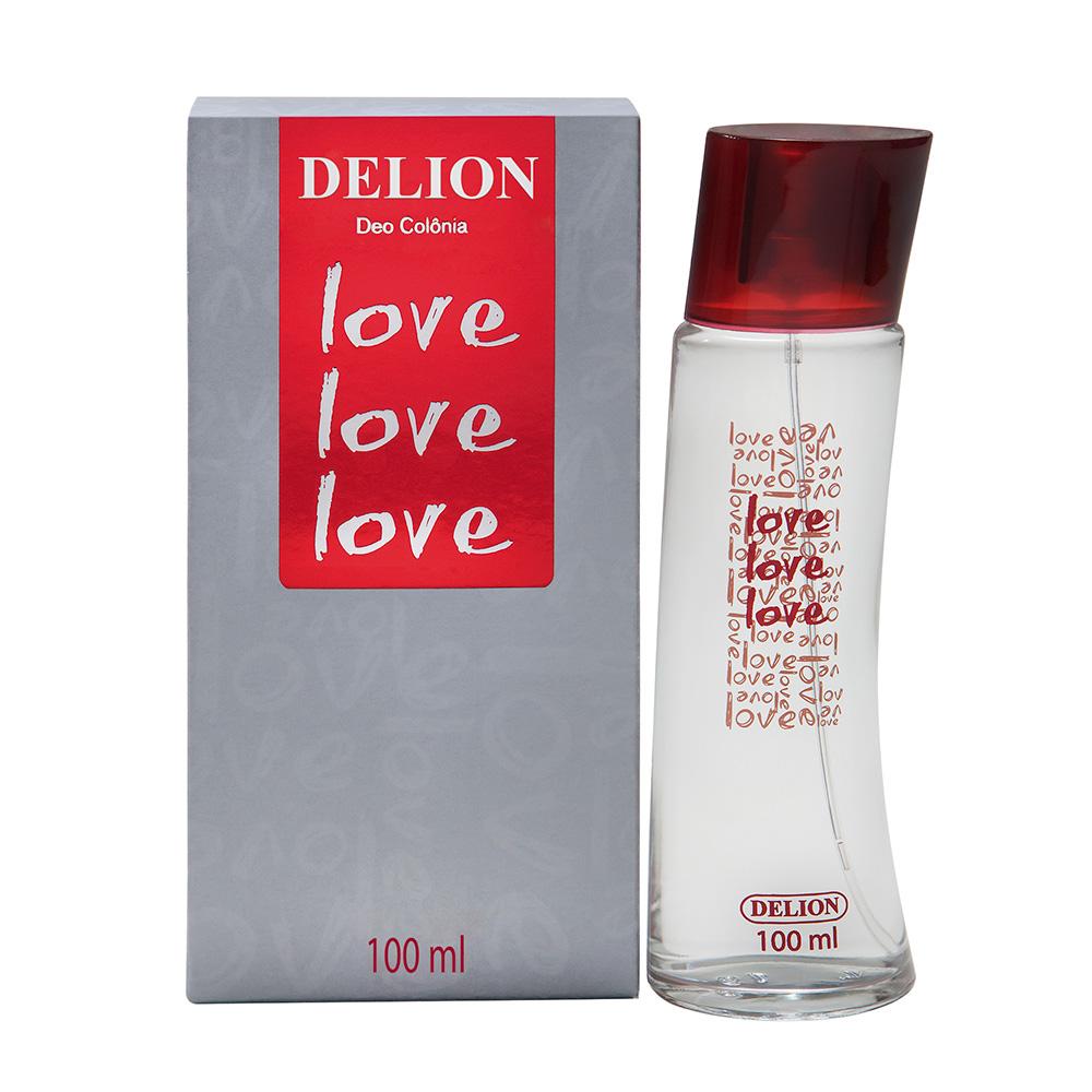 DEO COLONIA DEL PUMP 100ML LOVE LOVE 524