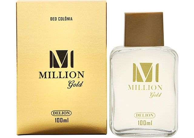 DEO COLÔNIA DELION 100ML MILLION GOLD 516