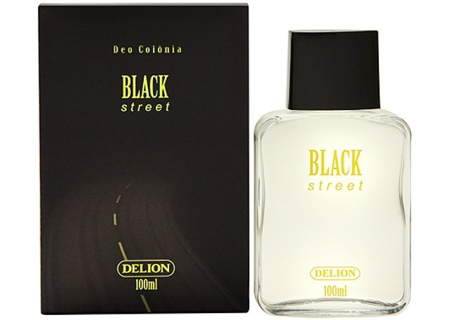 DEO COLONIA DELION PUMP 100ML BLACK STR 515