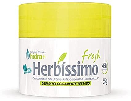 DESODORANTE CREME 55 GRAMA HERBISSIMO FRESH 729