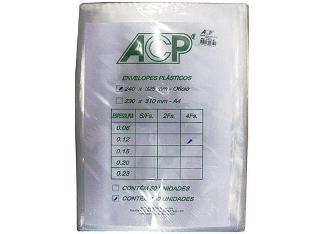ENVELOPE ACP 4F 0,12 100 PEÇAS 012/1004F