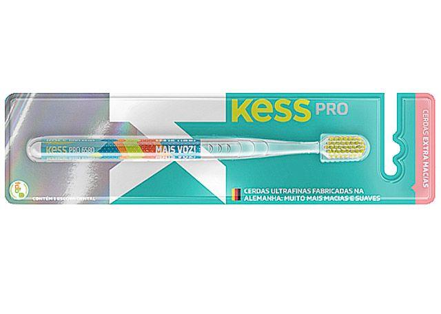 ESCOVA DENTAL KESS PROTEÇÃO CLEAN 2106