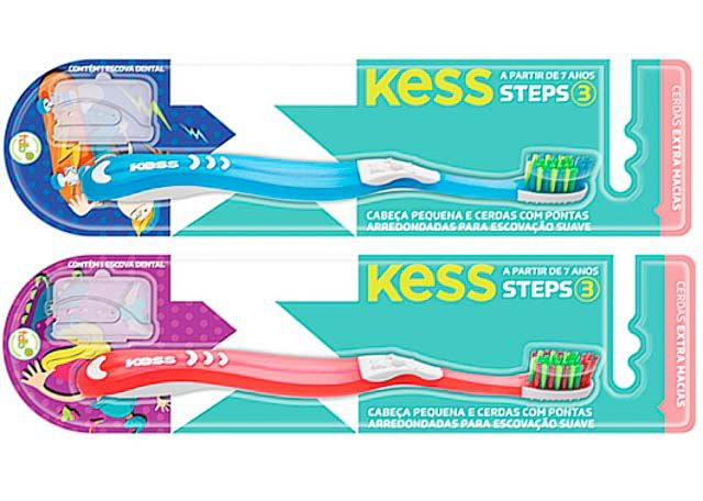 ESCOVA DENTAL KESS STEPS 3 2044