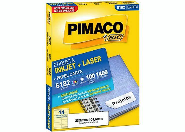 ETIQUETA PIMACO M D GRANDE1400 PEÇAS 6182