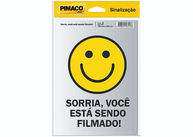 ETIQUETA PIMACO SINALIZ SORRIA 5000606