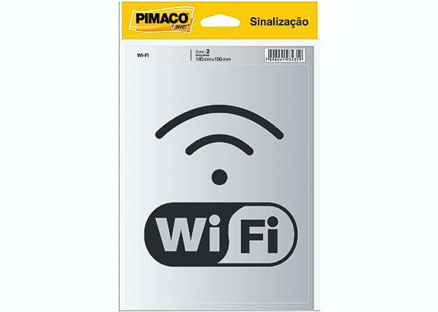 ETIQUETA PIMACO SINALIZ WI-FI 5000596