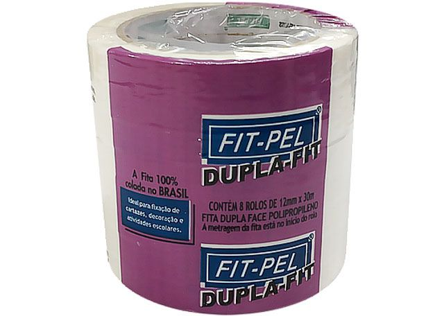 FITA DUPL FAC FIT-PEL 12X30 8P 1230-DPP