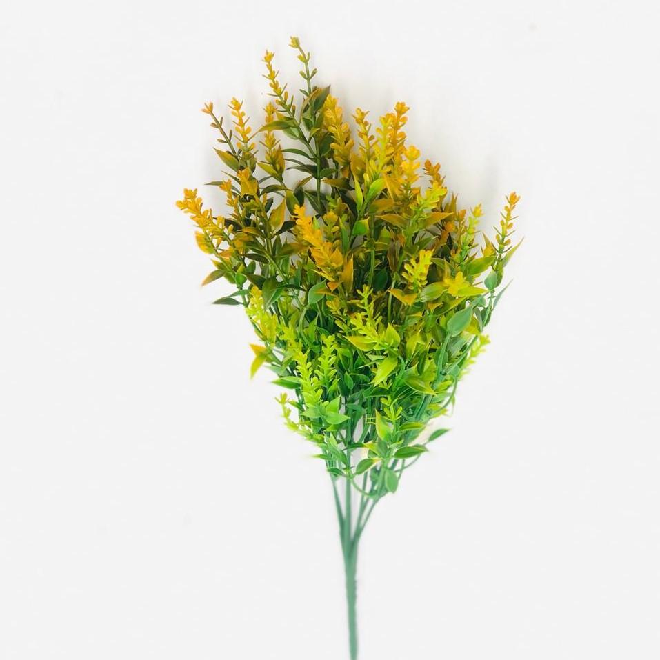 FOLHA GRASS C/PRINT 35CM X7 LARANJA 42229003