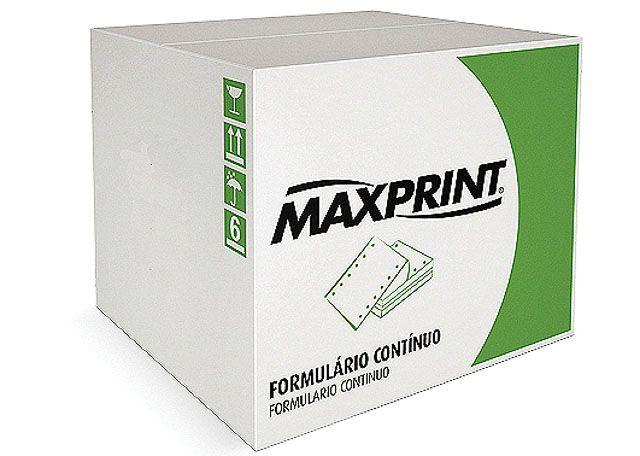 FORMULÁRIO CONTÍNUO MAXPRINT BRANCO 2V 1500 FOLHAS 3034